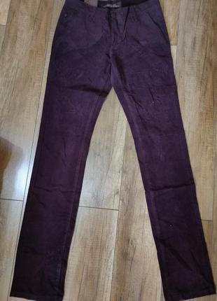 Мужские вельветовые брюки р.27 и р.28
