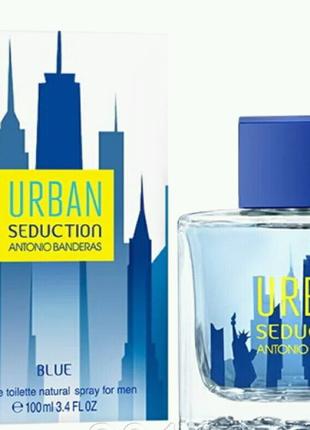 Мужская туалетная вода Antonio Banderas Urban Seduction Blue for