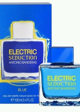 Туалетная вода Antonio Banderas Electric Blue Seduction Men 100ml