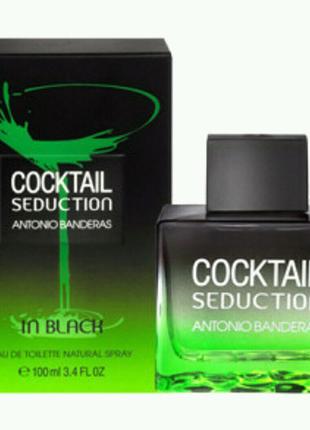 Antonio Banderas Cocktail Seduction in Black туалетная вода 100 m