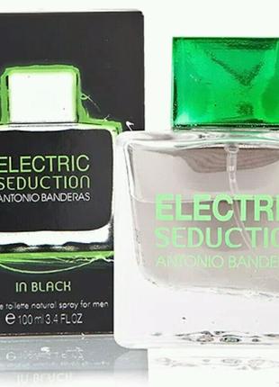 Мужская туалетная вода Antonio Banderas Electric Seduction In Bla
