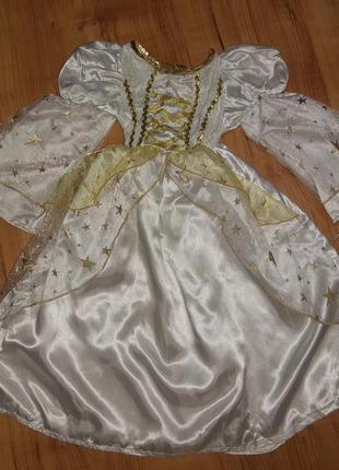 Карнавальное платье костюм ангелочек/ звёздочка