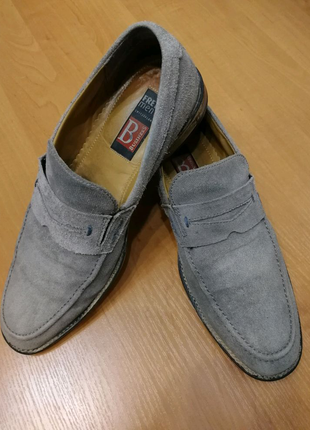 Туфли лоферы мокасины мужские