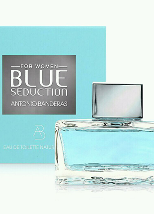 Туалетная вода Antonio Banderas Blue Seduction For Woman 80 мл