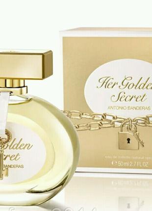 Женская туалетная вода Antonio Banderas Her Golden Secret