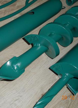Бур ручной для скважины 120 мм на 10 метров
