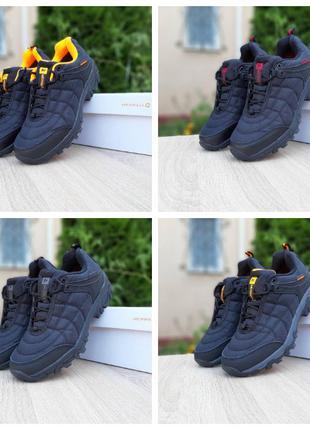 Мужские осенние утепленные кроссовки ботинки Merrell Ice Cap Moc