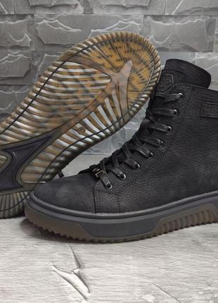 Мужские зимние ботинки в стиле philipp plein 🔥зима, натуральна...