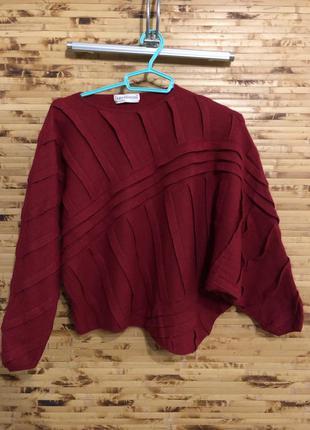 Люксовый шерстяной ангора шелк свитер пуловер gianni versace б...