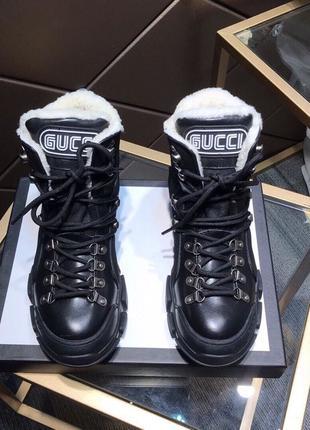GUCCI унисекс зимние ботинки