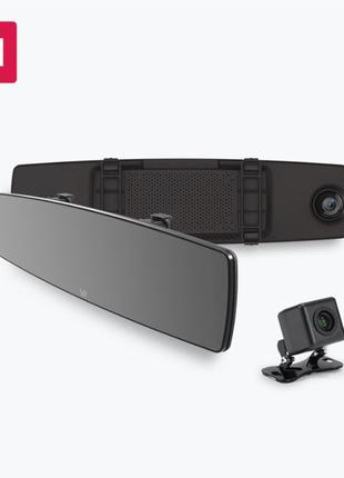 Видеорегистратор зеркало YI Mirror Dash Camera (YI-89029) + ка...