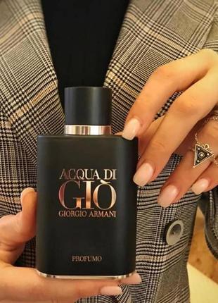 Giorgio armani aqua di gio for men black, тестер, 100 мл