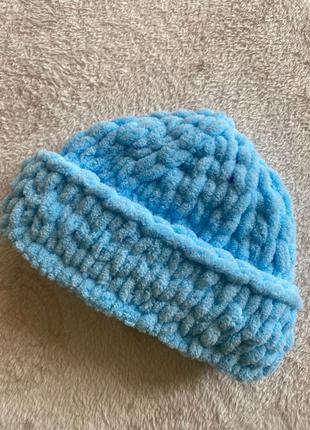 теплая шапка на осень