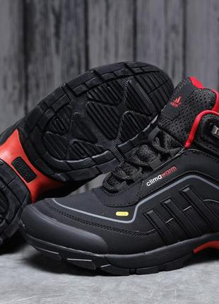 Зимние мужские кроссовки 31712 ► adidas climawarm 350, черные