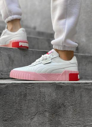 Кроссовки Puma Cali White/Pink