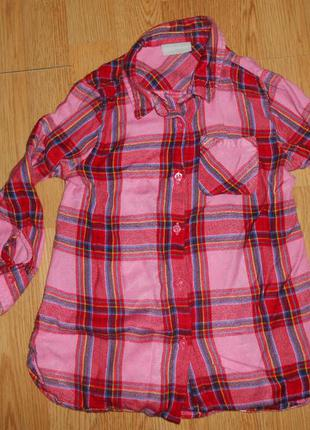Рубашка на девочку 6 лет