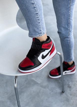 Кроссовки Nike Air Jordan 1 Retro Black/Red
