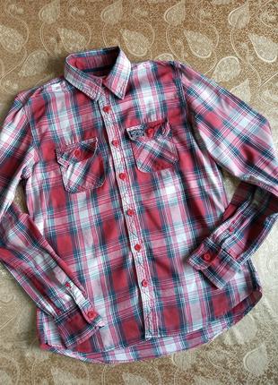 Рубашка Superdry из хлопка, xl