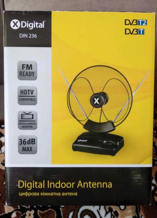Цифровая комнатная антенна