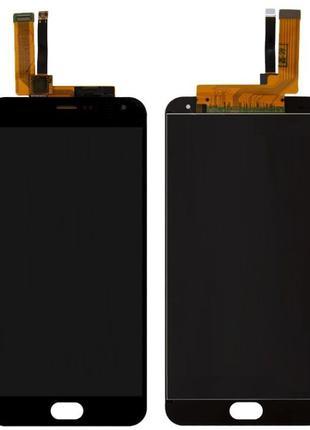Дисплей Meizu M2 Note M571 с сенсором (тачскрином) черный