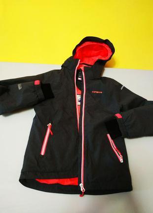 Зимняя  стильная термокуртка icepeak на девочку 9-10 лет