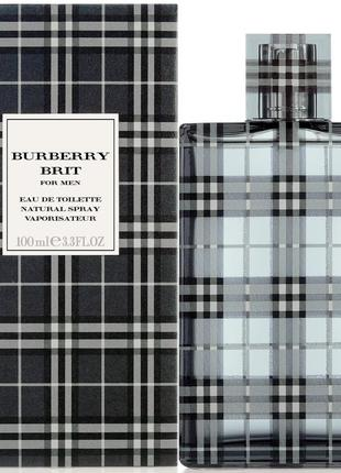 Мужская туалетная вода  burberry brit (100 мл)/люкс качеств...
