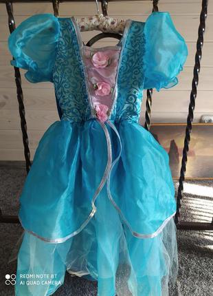 Карнавальное платье принцесса