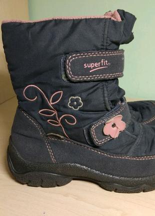 Сапоги ботинки зимние superfit