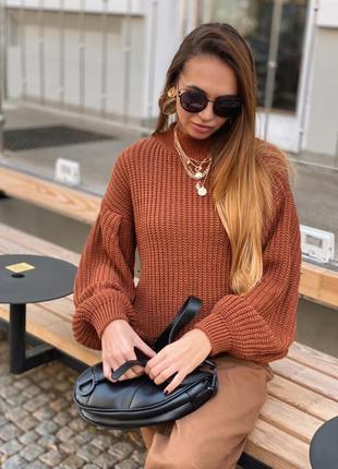 Теплий светр свитер кофта пуловер джемпер шерсть