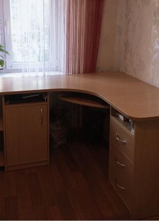 Стол 🤎 Большой угловой стол