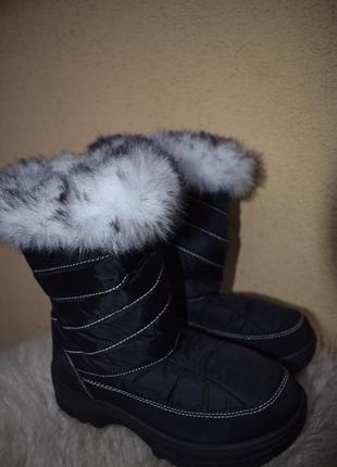 Зимние сапоги дутики сноубутсы р.35 21,5 см германия