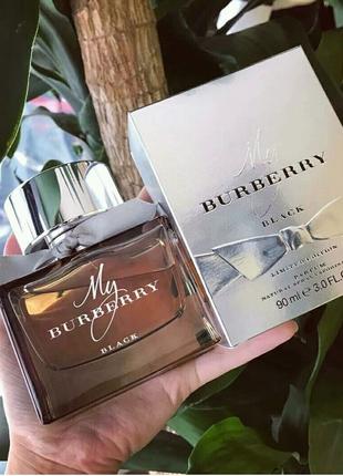 Женская парфюмированная вода Burberry My Burberry Black Limited E