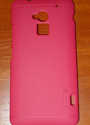 Чехол Nillkin для HTC One Max 8088 красный 0076