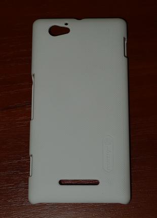 Чехол Nillkin для Sony C1905 Xperia M белый 0078