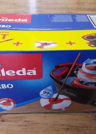 Набор для уборки швабра+ведро с отжимом Vileda Easy Wring&Clean T