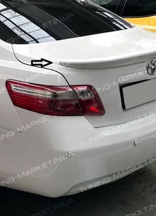 Лип Спойлер сабля Toyota Camry 40 Козырек на стекло Кемри Камр...