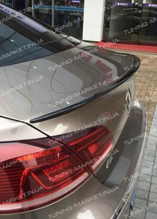 Лип спойлер сабля Volkswagen Passat CC Touareg козырек Пассат ЦЦ