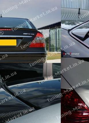 Лип спойлер сабля Mercedes W210 W211 W221 на стекло Мерседес