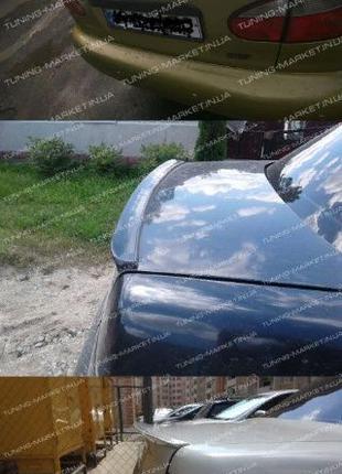Лип спойлер сабля ВАЗ 2110 2170 Приора Ланос Priora Lanos ЗАЗ ...