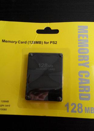 New Карта памяти 128MB Sony Playstation 2 PS2 Memory card пс2