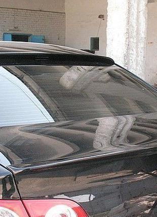 Лип спойлер сабля для Volkswagen Passat B7 козырек на стекло П...