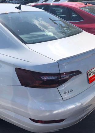 Лип спойлер сабля на багажник Volkswagen Jetta MK7 2018-2020