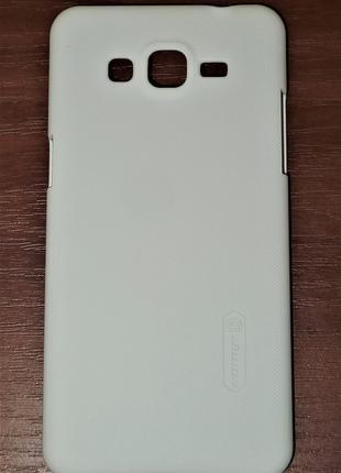 Чехол Nillkin для Samsung G530 Grand Prime белый 0081