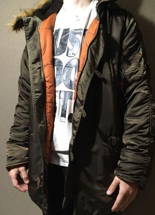 Зимняя куртка Alpha industries