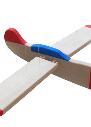 Самолет деревянная игрушка