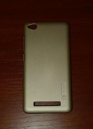 Чехол Nillkin для Xiaomi Redmi 4A gold 0085