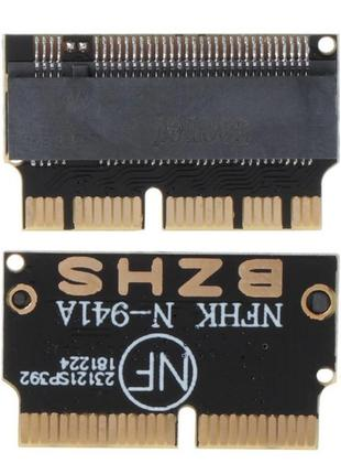 Переходник N-941A для SSD M.2 NVMe в Apple Macbook 2013-17