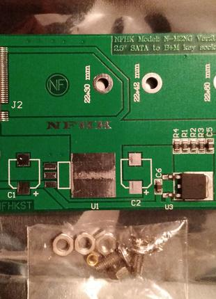 Переходник для SSD M.2 (NGFF) - Sata
