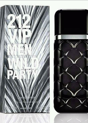 Carolina Herrera 212 VIP Men Wild Party EDT 100 ml
