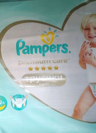 Pampers premium care pants 5 34